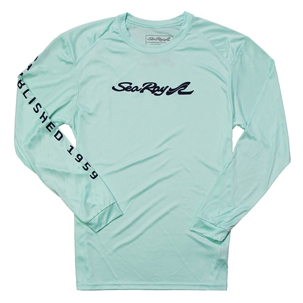 Coastal LS Sun Tee - Mint Green