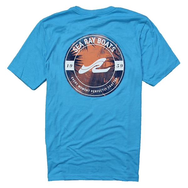Perspective Tee - Heather Aqua