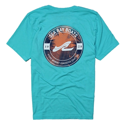Perspective Tee - Heather Sea Green