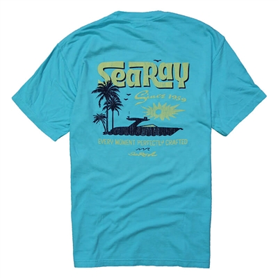 Sunshine Tee - Lagoon Blue