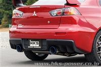 HKS Super Turbo Muffler Evo X