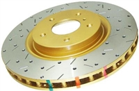 DBA 4000 Series Drilled/Slotted Front Rotor