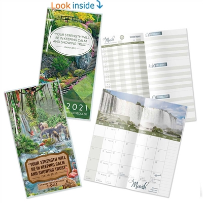 2021 MY MINISTRY SCHEDULER - Calendar (pocket size) with yeartext. The ultimate pioneer planner