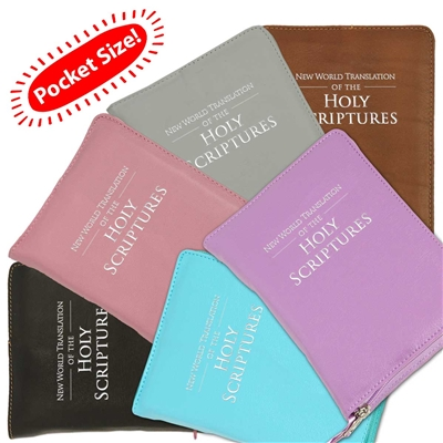 Pocket Sized Embossed Bible Cover & Protector