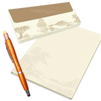 JW Letter Writing Set - Sepia