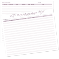 Worksheet for Telephone Witnessing and Letter writing