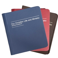 Storage Binder for Watchtower, Awake!, Our Christian Life and Ministry