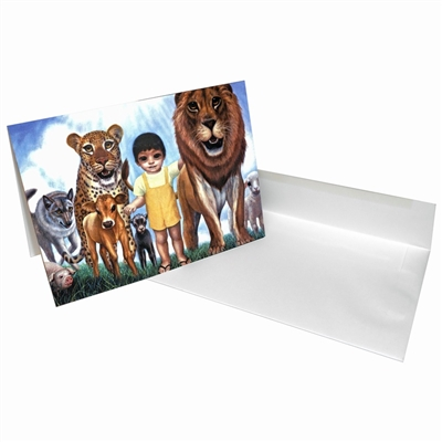 Margaret Keane Greeting Card - Ladies in Waiting