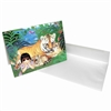 Margaret Keane Greeting Card - Paradise at Last