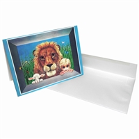 Margaret Keane Greeting Card - Jungle Mischief