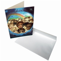 Margaret Keane Greeting Card - Tomorrows Future