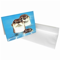 Margaret Keane Greeting Card - Weekend Guests
