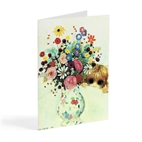 Margaret Keane Greeting Card - Peek a Boo-quet