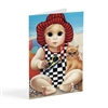 Margaret Keane Greeting Card - Seaside Sue