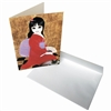 Margaret Keane Greeting Card - Toshiko
