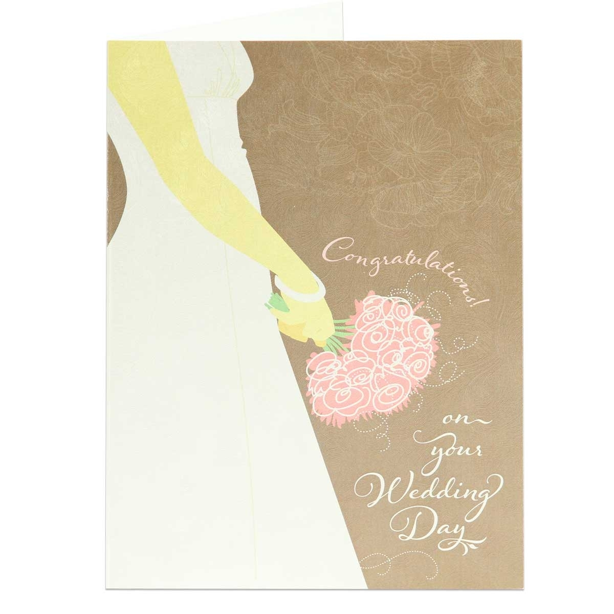 Congratulations On Your Wedding Day.Wedding Greeting Card Biblical Wedding Congratulations