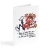 two are better than one - Illustrated Greeting Card
