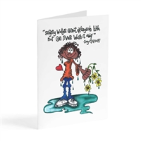 cannot extinguish love - Illustrated Greeting Card