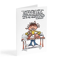 Many things to write you - Illustrated Greeting Card