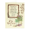 I'm Sorry religious greeting card based on Ephesians 4:32