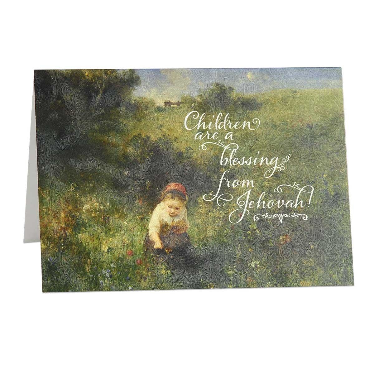 New Baby Cards Congratulations Baby Card Psalm 1273