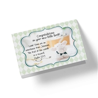 Biblical greeting card for someone who is expecting a baby Psalm 127:3