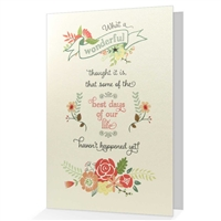 When it is difficult to come up with just the right words, our cheerful greeting cards say it all.