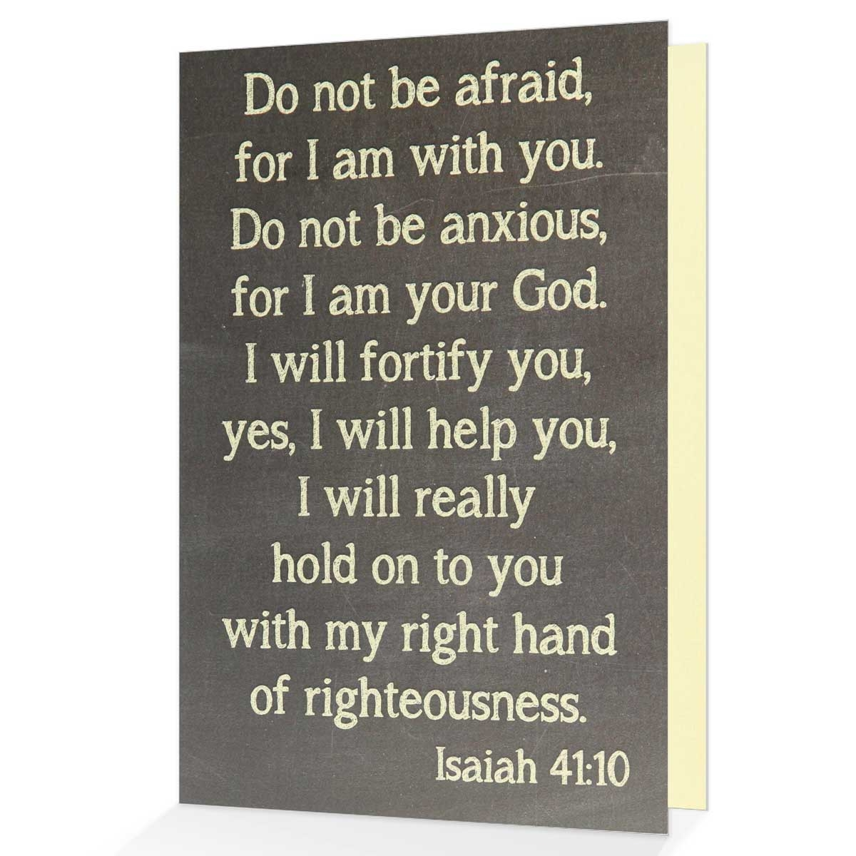 Isaiah 4110 greeting card spiritually encouraging card view larger photo email m4hsunfo