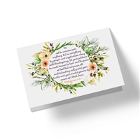 When it is difficult to come up with just the right words, these scriptural cards say it all.