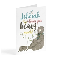"Encourage a friend with a card that says ""Jehovah loves you beary much"""