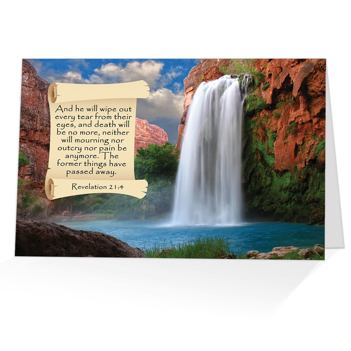 Spiritual comfort from the bible condolence greeting card buy m4hsunfo