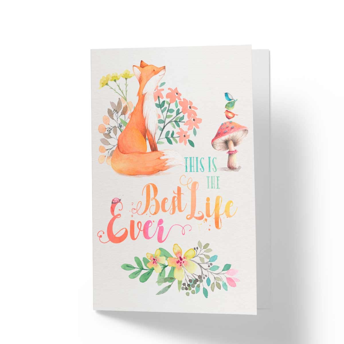 Best Life Ever Jw Paradise Greeting Card