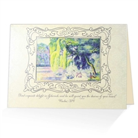 Give an Encouraging Greeting Card based on Psalm 37:4