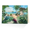 Just see us all in a world that is new! - JW Paradise Greeting Card