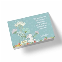 In Generous Endeavors He Perseveres - Biblical Greeting Card