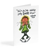 Never stop giving thanks for you - Biblical Greeting Card