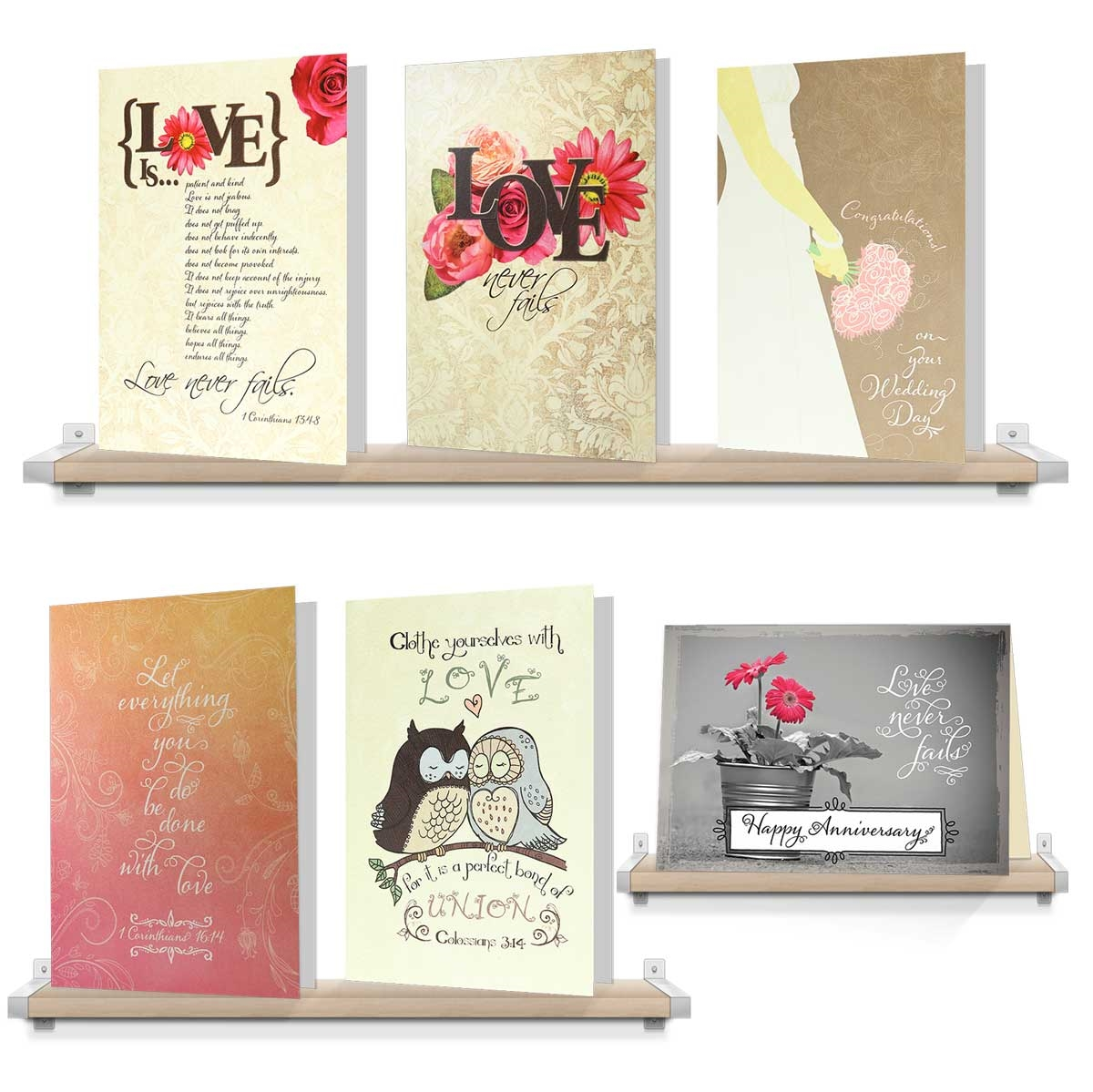 I love you pack assorted weddinganniversary greeting cards variety of wedding anniversary greeting cards view larger photo email kristyandbryce Choice Image