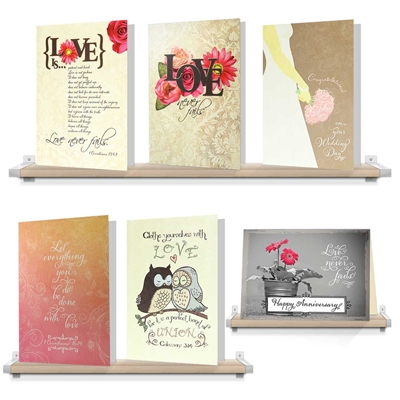 Variety of Wedding Anniversary Greeting Cards