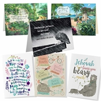 Variety of Bible Greeting Cards | Encouraging Greeting Value Pack