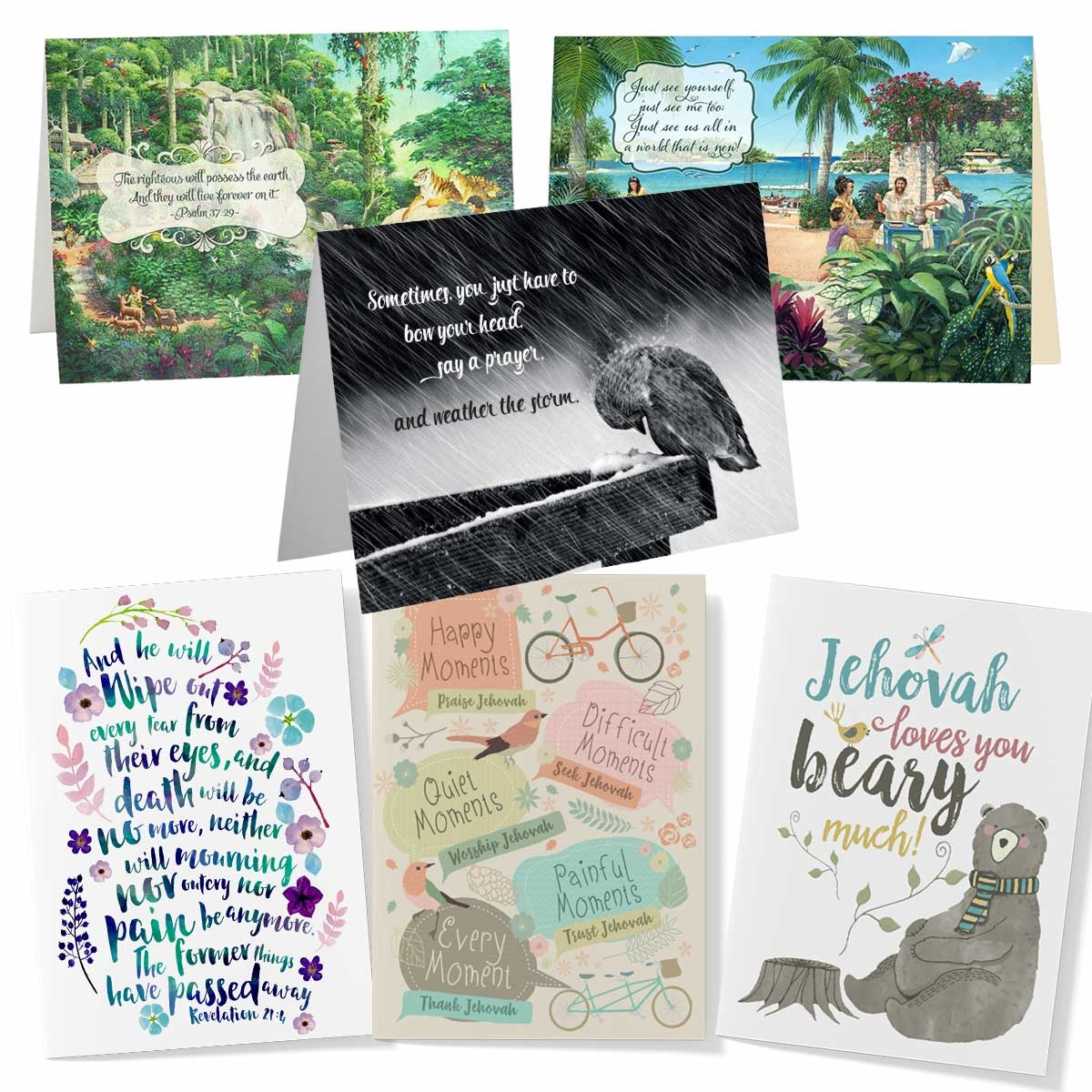 Comfort Pack Assorted Heart Warming Greeting Card Gifts