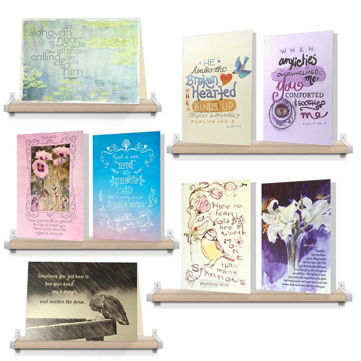 Comfort pack assorted encouraging greeting cards jw gifts view larger photo email kristyandbryce Image collections