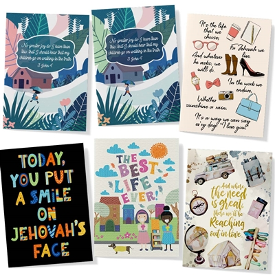 Variety of Scriptural Greeting Cards