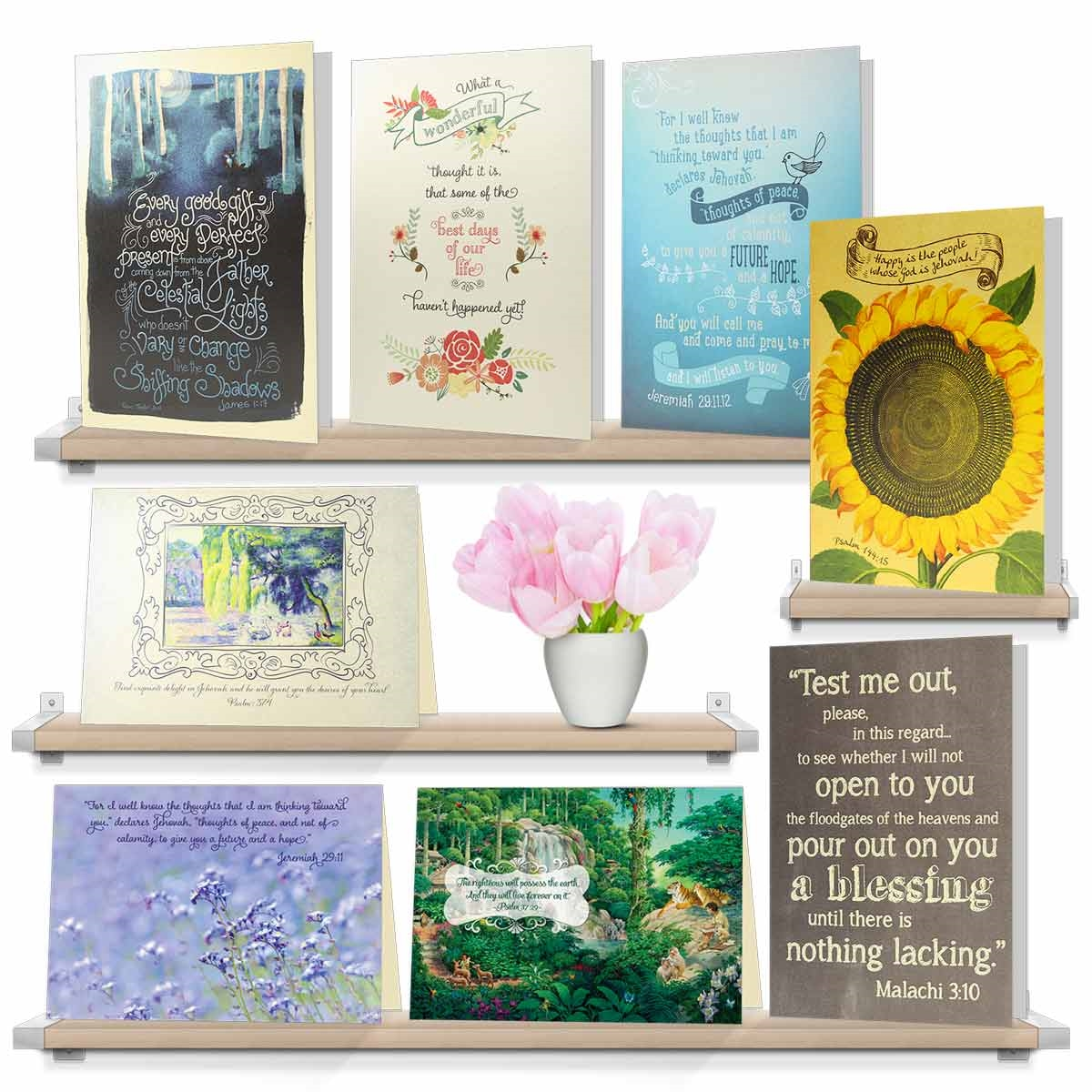 Christian Blessings Cards Assorted Blessings Greeting Cards