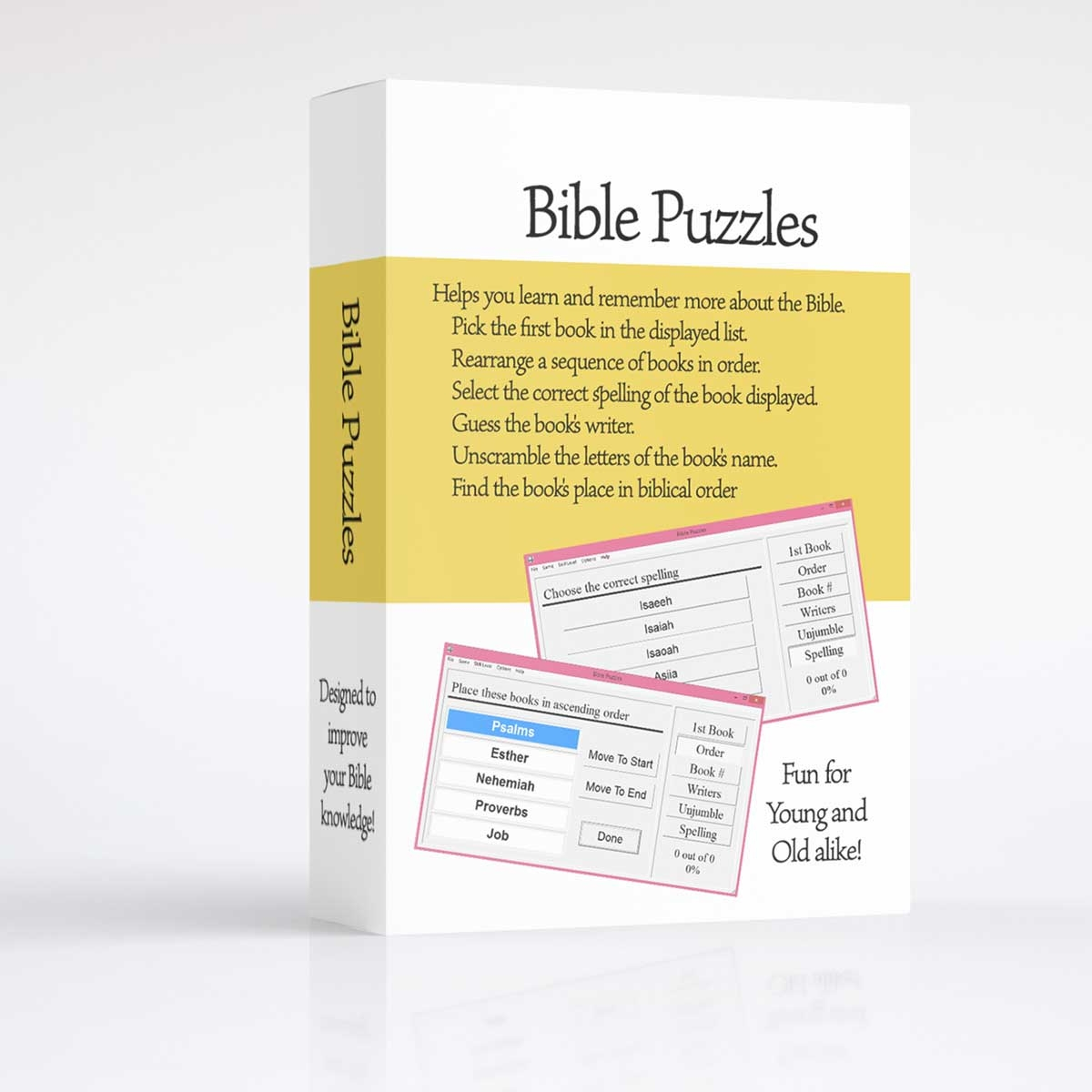 'Bible Books Puzzler' - for *Windows [Digital Download - WINDOWS Computers  ONLY]