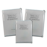 Clear Vinyl Book Covers for Sing Out Joyfully to Jehovah