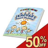PREORDER - ENTIRE ORDER HELD UNTIL AUGUST 24 - 2020-2021 - KIDS fun ACTIVITY BOOK for the 'Make Jehovah's Heart Rejoice' CIRCUIT Assembly
