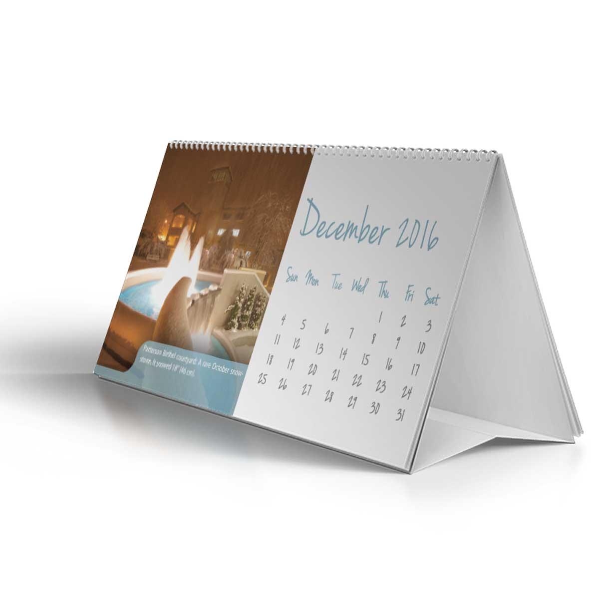 2016 2017 16 month desk calendar featuring new york bethels