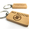 'Jehovah's Witness  'No Blood Transfusion' Key Ring