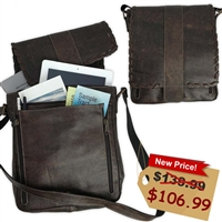"Ready-to-Go Courier bag for Jehovah's Witnesses. Grab and go. A light/weight option for publishers that like the ""messenger style"" bags. For brothers or sisters. A special zipper pocket to hold your iPad or tablet on the inside."