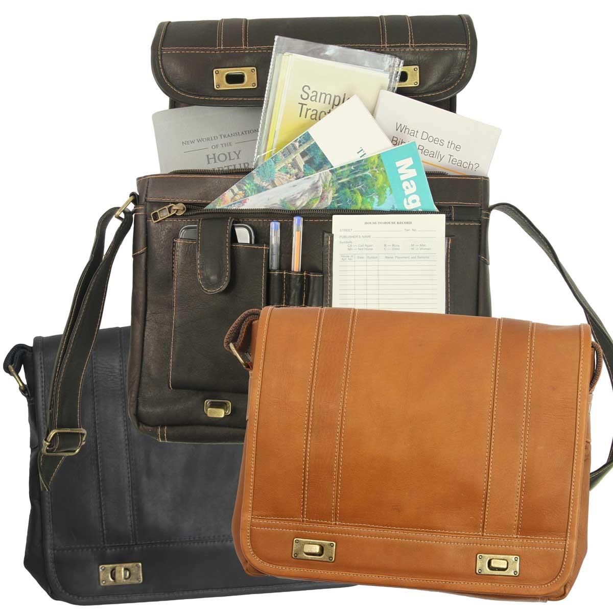 Multi Purpose Meeting Service Bag Leather